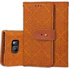 Fashion European Style Flip Cover Wallet Card Leather Case For SAMSUNG S6/7edge