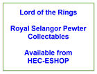 Lord of the Rings Royal Selangor Pewter Collectables Select From List