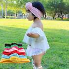 Cute Baby Toddler Girl Kids Flower Knot Turban Headband Hair Band Headwrap New