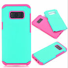 For SAMSUNG S8 S8 Plus Slim Heavy PC+TPU Armor Shockproof Two In One Case Cover