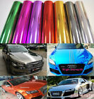 All Sizes Glossy Chrome Vinyl Mirror Film Wrap Sticker Decal Sheet Air Free