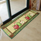 apple pattern floor door mat kitchen rug