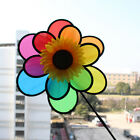 Baby Windmill Wind Spinner Whirligig Children Multicolors Toys Classic Rainbow !