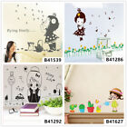 Lovely Girl Life Home Room Decor Removable Wall Stickers Decals Wandbilde