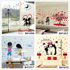 Romantic Lover Home Room Decor Removable Wall Stickers Decals Wandbilde
