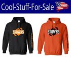 Cleveland Browns Football Pullover Hooded Sweatshirt $45.99 USD on eBay
