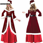 Vestito Donna Costume Babbo Natale Cosplay Hostess Christmas dresses HOS030
