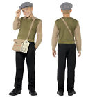 Smiffy's Boys 1940s WW2 Costume World Book Day Wartime Fancy Dress Outfit