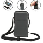 Universal Wallet Climbing Portable Case Shoulder bag holster for iphone 8 7 Plus