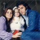 Elvis Presley Priscilla and Lisa Marie family pic 8b20-14589