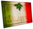 Italian Jalapeno Kitchen Print CANVAS WALL ART Picture Framed