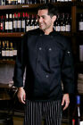 Uncommon Threads, Classic with Mesh Chef Coat, Black or White, XS to 6XL, 0426