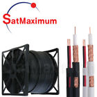 SIAMESE RG59 1000ft 500ft 250ft Cable BULK 20AWG+18/2 Power CCTV Security Camera