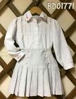 Muchas Loves Pretty Originals Girls Two Piece High Waisted Skirt And Shirt