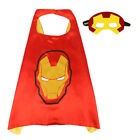 Hot Kids Superhero Boys Cloak Party Costume Cape with Mask Christmas Fancy Dress