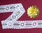 "Silver Lace Trim 12-24 Yds CLOSEOUT 1/2"" Doll Lace 1/2"" B05V Added Trim ShipFree"