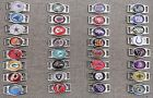 NFL Paracord & Shoelace Oval/ Rounded Rectangular Charms, or Buckle & Charm Sets