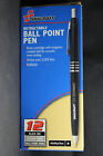 Skilcraft U.S. Government Retractable Ballpoint Pen Medium Fine Black Blue 12ea.
