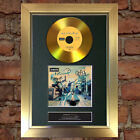 GOLD DISC OASIS Definitely Maybe Signed CD Mounted Repro Autograph Print A4 114