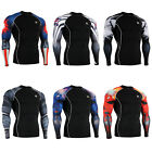 FIXGEAR CPD Compression shirt base layer skin tight under training  fitness B