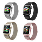 NEW Milanese Stainless Steel Band Strap Watch Case For Apple Watch Series 3/2/1