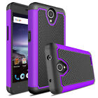 For ZTE Maven 3 / Overture 3 Phone Case Shockproof Hybrid Armor Rubber TPU Cover