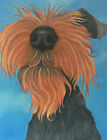 welsh terrier painting fine art giclee print picture