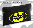 New Batman 90s Gotham Any Name Personalised Black Pencil Case Cool School Gift