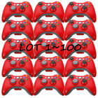 LOT100 OEM Official Genuine Microsoft xbox 360 Wireless Controller Glossy Red EK