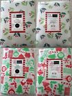 CHRISTMAS (X-MAS) FLANNELBACK TABLECLOTH - CHOOSE FROM 2 STYLES & VARIOUS SIZES