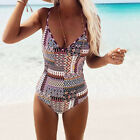 Women Girls One-Piece Swimsuit Beachwear Swimwear monokini bikini Bathing suit