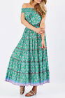 NEW Naudic Womens Maxi Dresses Sorrento Maxi Dress Emerald