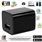 Mini WIFI 1080P Hidden Spy Camera 8GB 32GB 16GB Wall Charger Wireless HD USB Cam