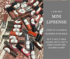 Mini 1.2ml LIPSENSE Senegence Lip Color Gloss Long Lasting A