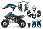 Honda TRX 450R Graphic Kit with OEM,  Fourwerx,  Maier or Quadtech Hood #3500 Red