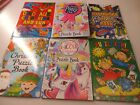 6 Fun Puzzle Bokks  Pick your theme Perfect party bag fillers for girls and boys