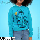Statue Of Guinea Pig Sweater Jumper Liberty New York Pigs Sweatshirt Top USA T