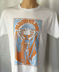 Audioslave Concert Tour Graphic T Shirt White Tee Hard Rock Hotel Las Vegas  image