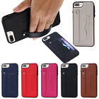 Hand Strap Leather Prankster Wallet Protective Case Cover For Apple iPhone 8 7 Plus 6