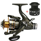 Metal Spinning Fishing Reel Front and Rear Drag System For Freshwater Goture
