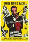 From Russia With Love James Bond 007 Movie Poster Iron on Tee T Shirt Transfer £1.95 GBP