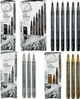 Derwent Graphik Line Maker Sets & Individual Pens In All Colours & Sizes