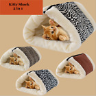Kitty Shack 2In1 Pet Tunnel Bed&Mat Cat/Dog Hot&Warm Portable Multi Colors90*57