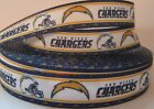 "GROSGRAIN SAN DIEGO CHARGERS FOOTBALL 7/8"" RIBBON*YOUR CHOICE 1,3 or 5 YARDS $5.59 USD on eBay"