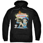 Betty Boop Welcome Las Vegas Pullover Hoodies for Men or Kids $32.99 USD