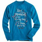 """Just Arrived!!! """"Live Every Day"""" Kerusso Cherished Girl Blue Long Sleeve T-Shirt"""