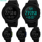 Women Mens LED Waterproof Digital Quartz Fashion Watch Military Sport Wristwatch