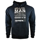Mens Sweatshirt Hoodie Jacket Sweater Lyrics John & Paul Pullover Black Fleece