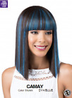 MIDWAY BOBBI BOSS M982 CAMAY CHINA BANG  W SHORT BOB 100% PREMIUM SYNTHETIC WIG