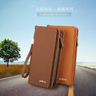 Western Casual Style Men's Wallet Multifunction Large Capacity Mobile Phone Bag